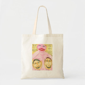 Talking Breasts Tote Bags