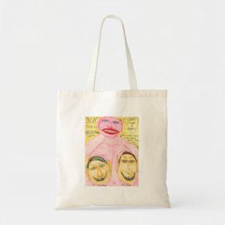Talking Breasts Budget Tote Bag