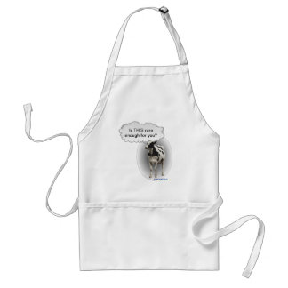 Talking Cow- is ThIS rare enough for you Standard Apron