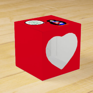 Talking Cuban Flag Penguin Favour Box