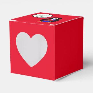 Talking Cuban Flag Penguin Party Favour Boxes