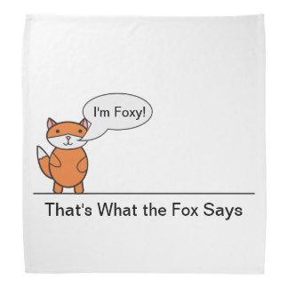 Talking Fox Bandana