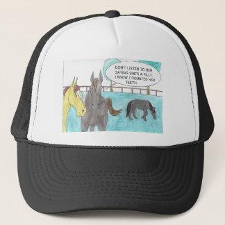 TALKING HORSE TRUCKER HAT