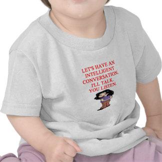 talking insult tshirt