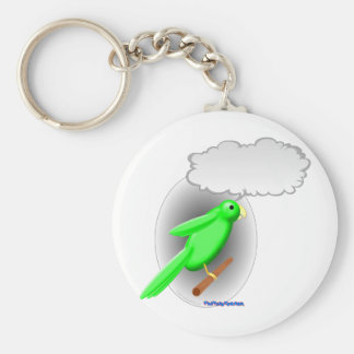 Talking Parrot Key Ring