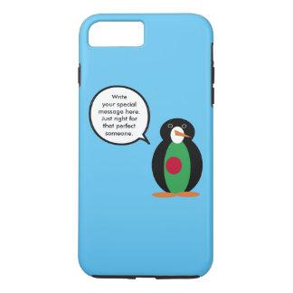 Talking Penguin Bangladeshi Flag iPhone 7 Plus Case