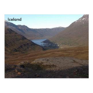 Tálknafjörður, Westfjords, Iceland Postcard