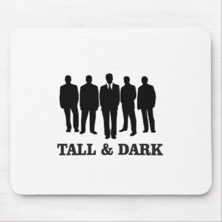 tall and dark males mouse pad