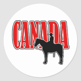 Tall And Proud Canada Day Stickers