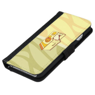 Tall arcade game console iPhone 6 wallet case