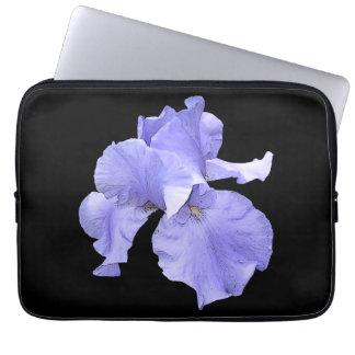Tall Bearded Purple Iris Laptop Sleeve
