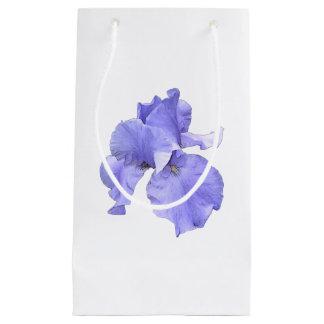 Tall Bearded Purple Iris Small Gift Bag