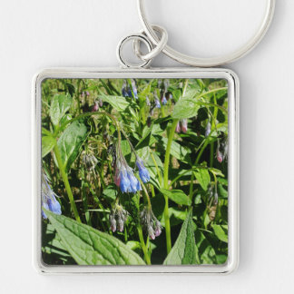 Tall Bluebells from an Alaskan Summer Key Ring