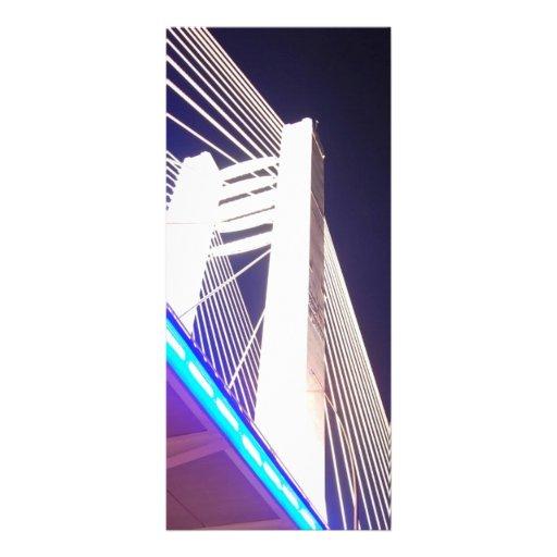 Tall-bridge-at-night1731 TALL BRIDGE NIGHT PHOTOGR Full Color Rack Card