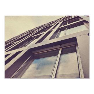 Tall building 17 cm x 22 cm invitation card