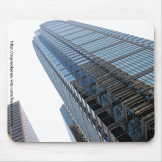 Tall building mouse pad