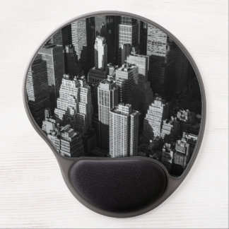 Tall buildings and skyscrapers with shadows gel mouse pad