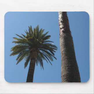 Tall California Palm Trees Mousepad