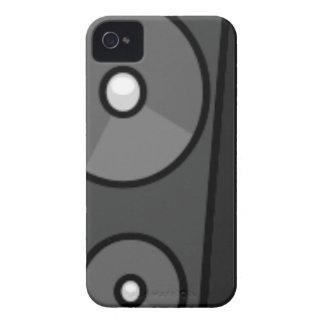 Tall Cartoon Speaker iPhone 4 Case-Mate Cases