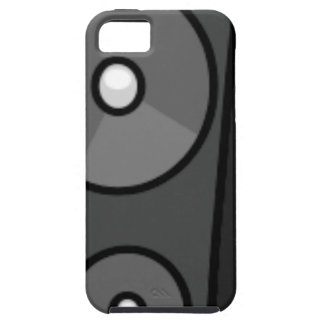 Tall Cartoon Speaker iPhone 5 Case