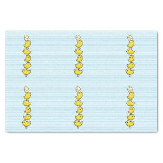 Tall Chicks Tissue Paper