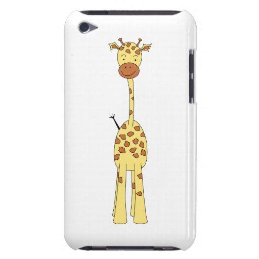 Tall Cute Giraffe. Cartoon Animal. Barely There iPod Cover