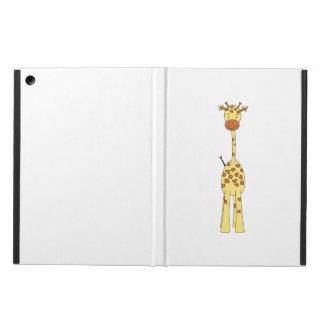 Tall Cute Giraffe. Cartoon Animal. Cover For iPad Air