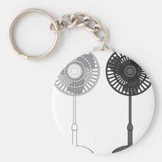 Tall Fan Key Ring