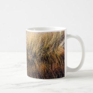 Tall Grasses Basic White Mug