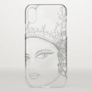 TALL HAT FLAPPER iPhone X CASE