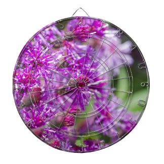 Tall Ironweed Wildflowers Dartboard