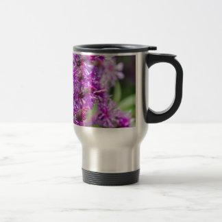 Tall Ironweed Wildflowers Travel Mug