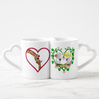 Tall Love From Above Coffee Mug Set