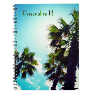 Tall Palm Trees Notebooks
