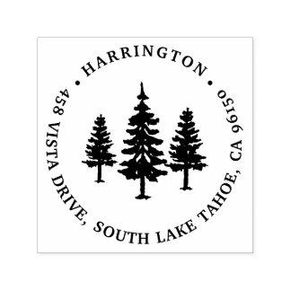 Tall Pines   Return Address Self-inking Stamp