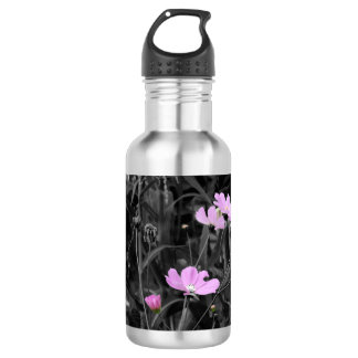 Tall Pink Poppies 532 Ml Water Bottle