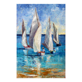 Tall Sails Poster