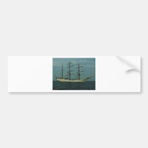 Tall Ship Artemis Bumper Stickers