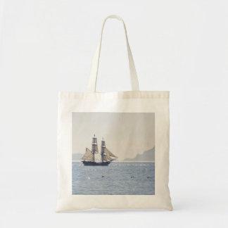Tall Ship Tote Bags