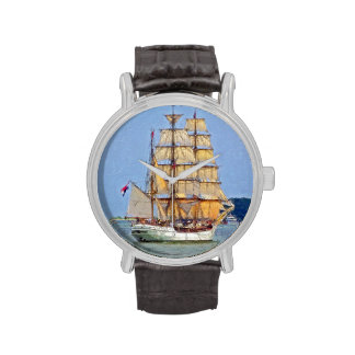 Tall Ship Europa Wristwatch