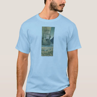 Tall Ship from the Holy Grail Tapestry T-Shirt