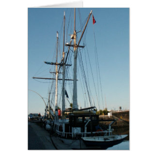 Tall Ship Frya Card