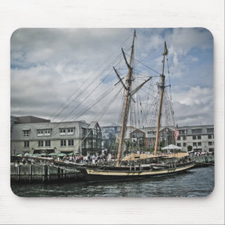 Tall Ship in Halifax Mouse Pad