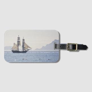 Tall ship Lady Washington luggage tag