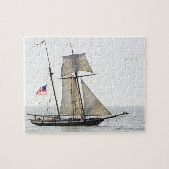 Tall ship Lynx puzzle