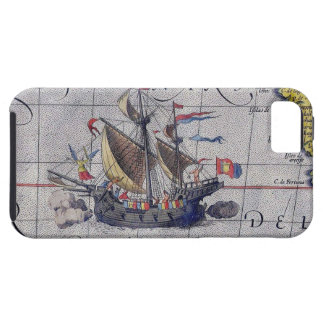 Tall Ship Map of the Pacific Ocean Case For The iPhone 5