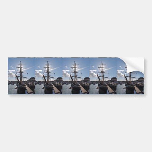Tall Ship Pelican Of London Bumper Sticker