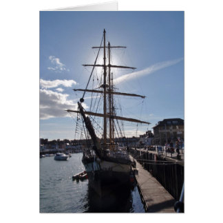 Tall Ship Pelican Of London Card