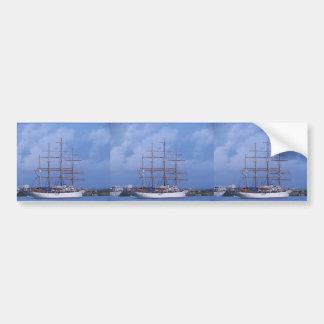 Tall Ship Sea Cloud Bumper Sticker