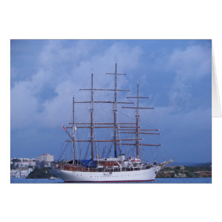 Tall Ship Sea Cloud Card